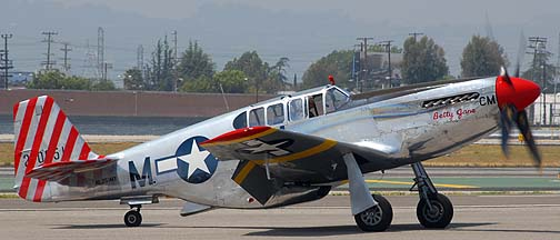 North American P-51C Mustang NL251MX Betty Jane